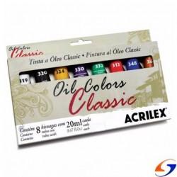 OLEO ARTISTICO ACRILEX X8 OLEOS