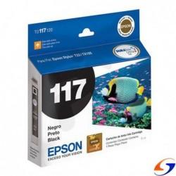 CARTUCHO EPSON ORIGINAL T117 NEGRO EPSON
