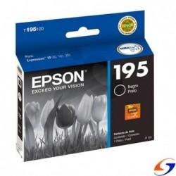 CARTUCHO EPSON ORIGINAL T195 NEGRO CARTUCHOS EPSON