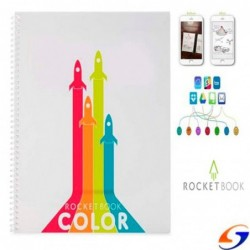CUADERNO INTELIGENTE ROCKETBOOK COLOR CUADERNOS