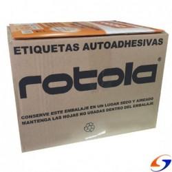 TIQUETAS ROTOLA IMPRESORA A4 X1000 PLANCHAS ADHESIVAS