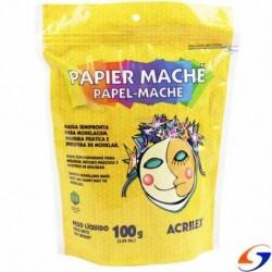 PAPEL MACHE ACRILEX 100GR. MASAS Y PLASTICINAS