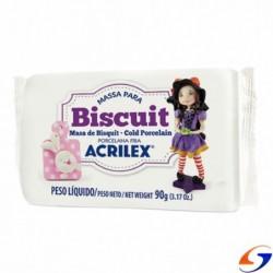 PORCELANA FRIA ACRILEX BISCUIT 90GR. MASAS Y PLASTICINAS