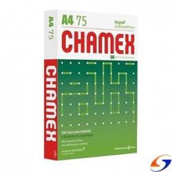 HOJAS A4 CHAMEX 75GR. X500 PAPELES