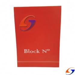 BLOCK LISO SP Nº3 OBRA 19X26CM. BLOCKS