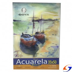 BLOCK DIBUJO ACUARELA GOYA 300GR. 1/4 WATMAN BLOCKS