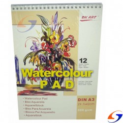 BLOCK DIBUJO ACUARELA WATERCOLOUR 300GR. A3 BLOCKS