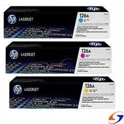 TONER HP ORIGINAL 126A COLOR ORIGINALES