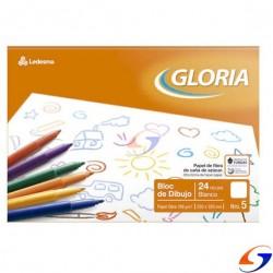 BLOCK DIBUJO LEDESMA GLORIA A4 BLANCA BLOCKS