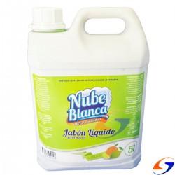 JABON NUBE BLANCA CITRICO O FLORAL BIDON X 5LT. LIMPIEZA