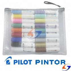 MARCADOR PILOT PINTOR M 1.4MM. CARTUCHERA X18 PAPELERIA